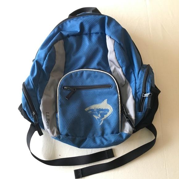 878055f19821 L.L. Bean Other - Kids LL Bean shark backpack